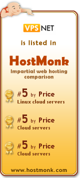 VPS.net is listed in HostMonk (www.hostmonk.com)