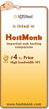 VPSNext is listed in HostMonk (www.hostmonk.com)